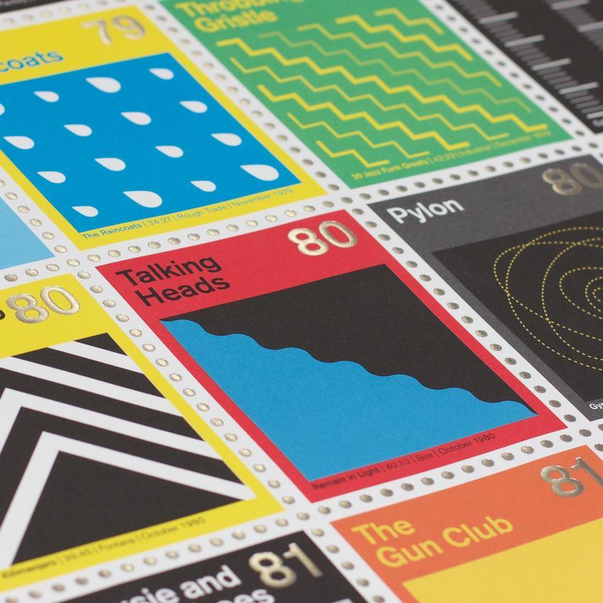 Stamp Albums Post Punk 5