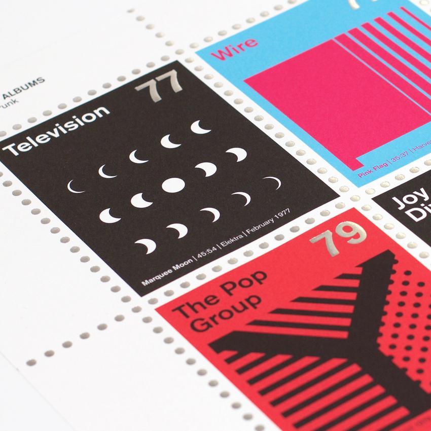 Stamp Albums Post Punk 6