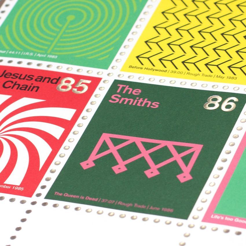 Stamp Albums Post Punk 9
