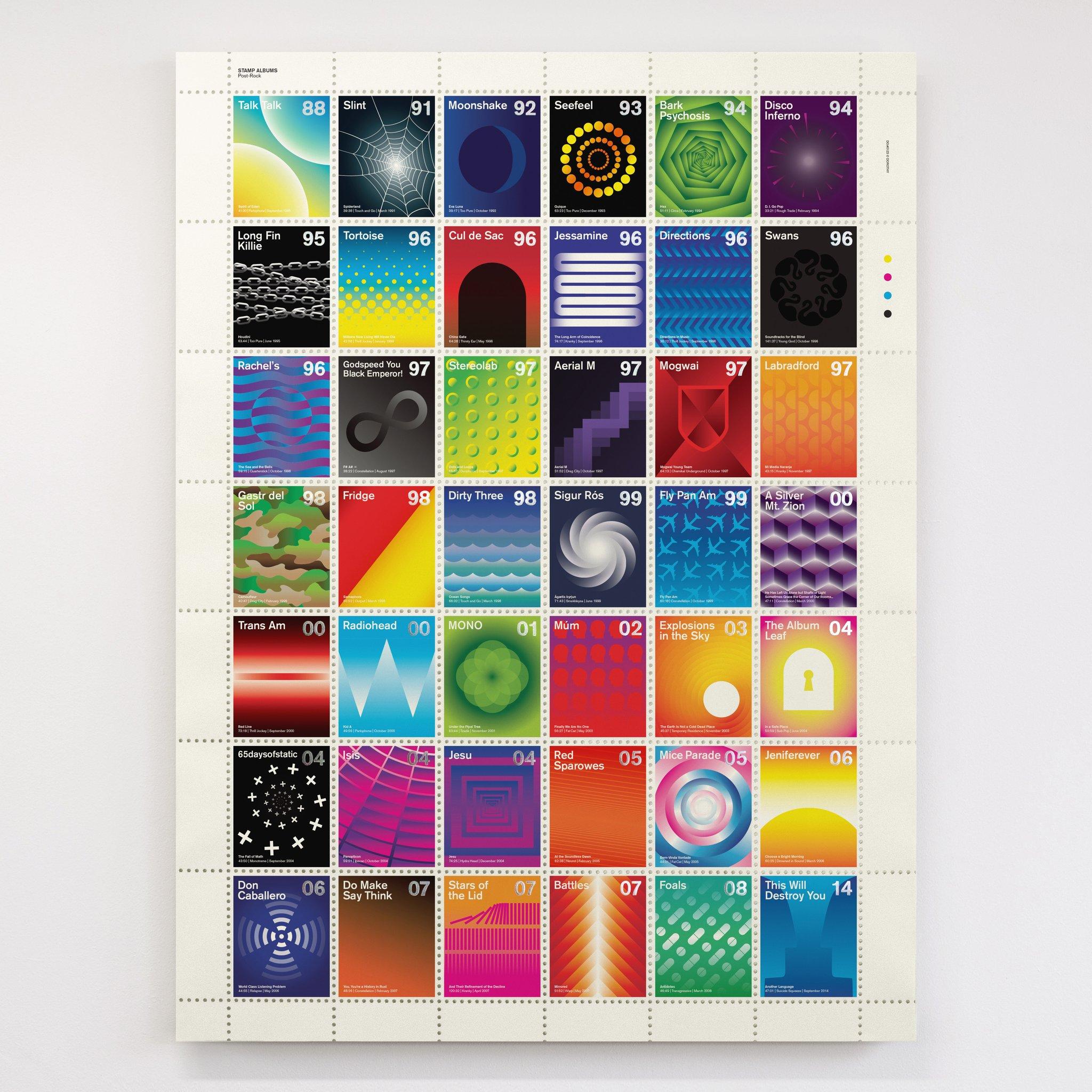 Stamp Albums Post Rock 1