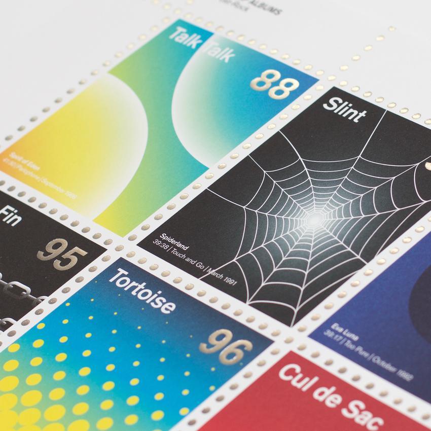 Stamp Albums Post Rock 4