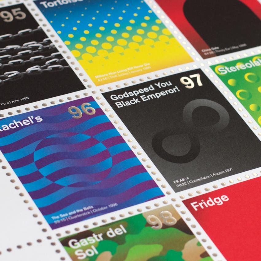 Stamp Albums Post Rock 6