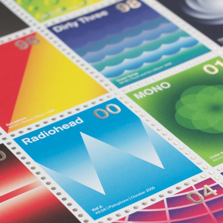 Stamp Albums Post Rock 8