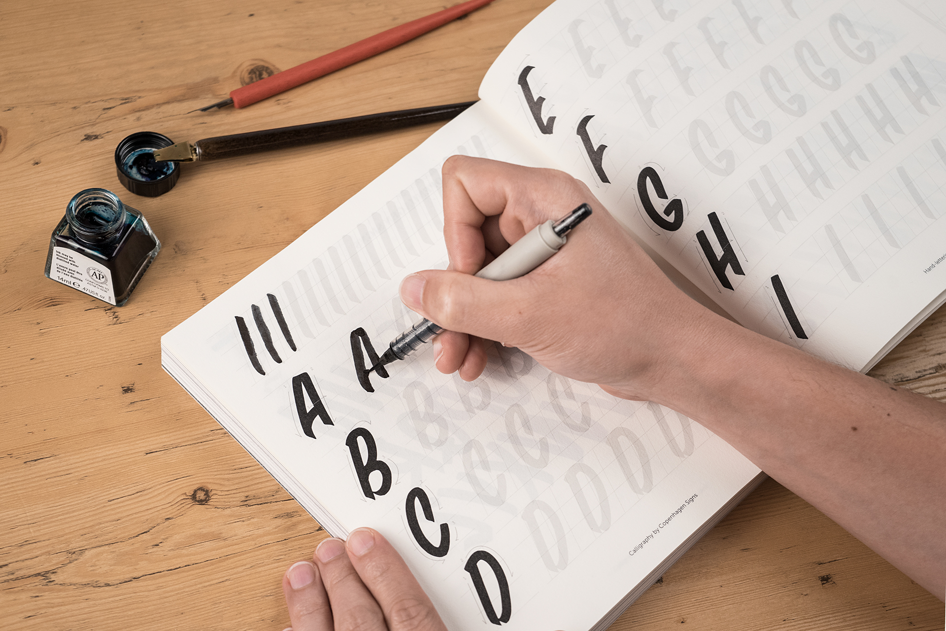 handstyle lettering 15