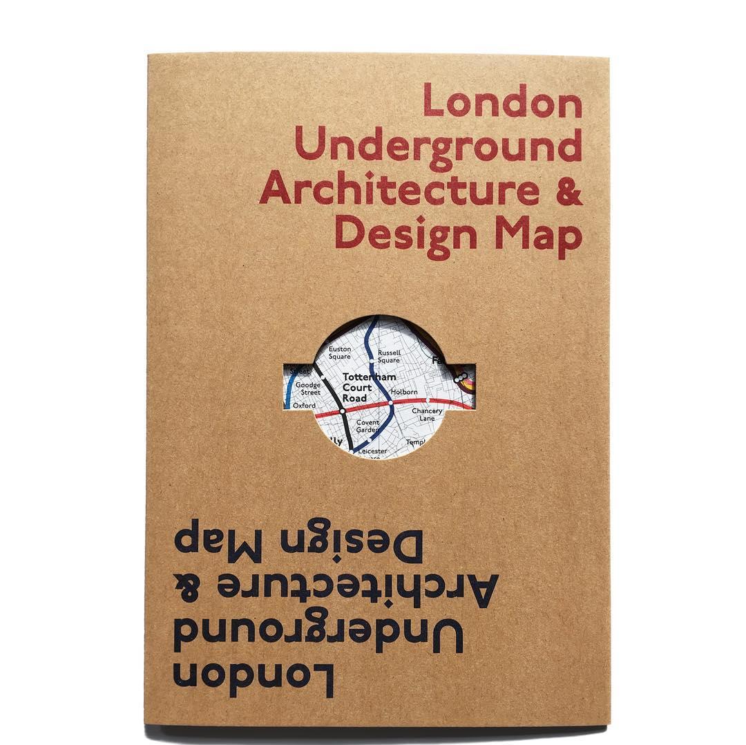 London Underground Architecture Design Map 1