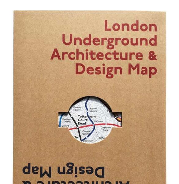 London Underground Architecture Design Map 2