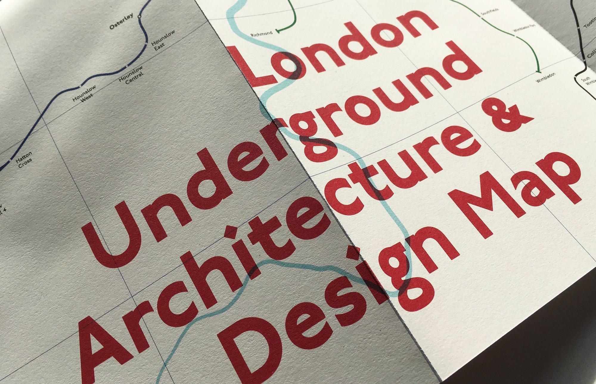 London Underground Architecture Design Map 3