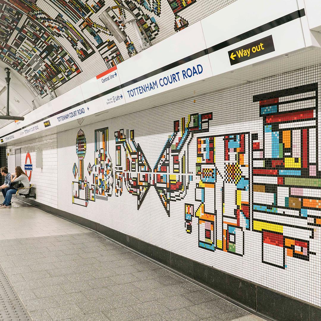 London Underground Architecture Design Map 6