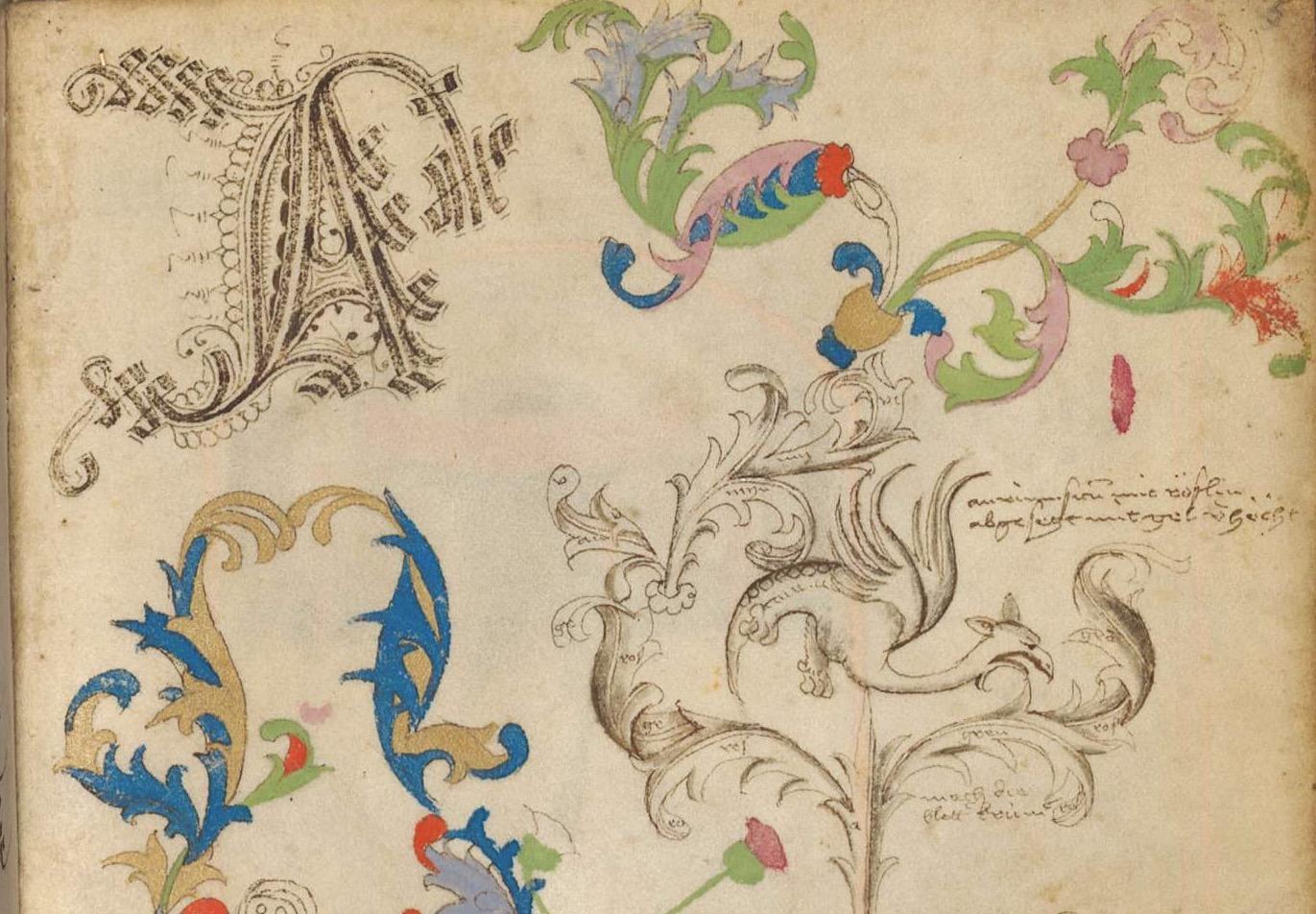Tesori d'archivio: il quaderno di schizzi di un miniaturista medievale