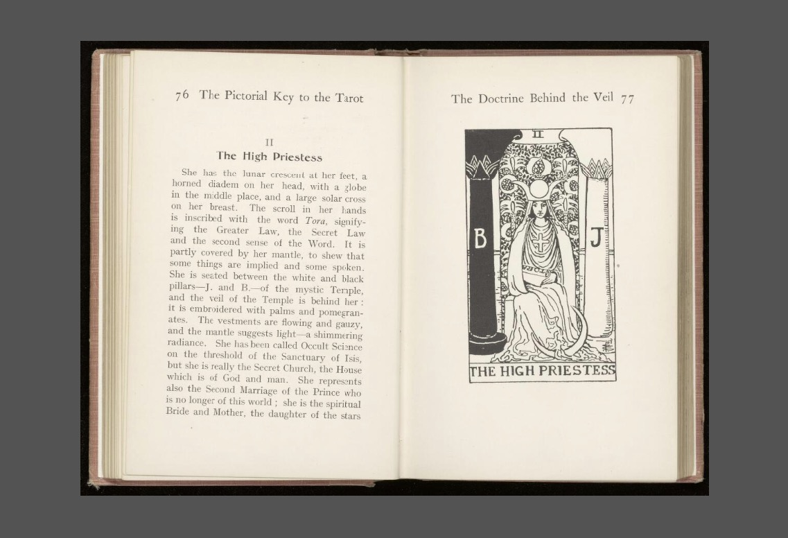 The pictorial key to the tarot 1