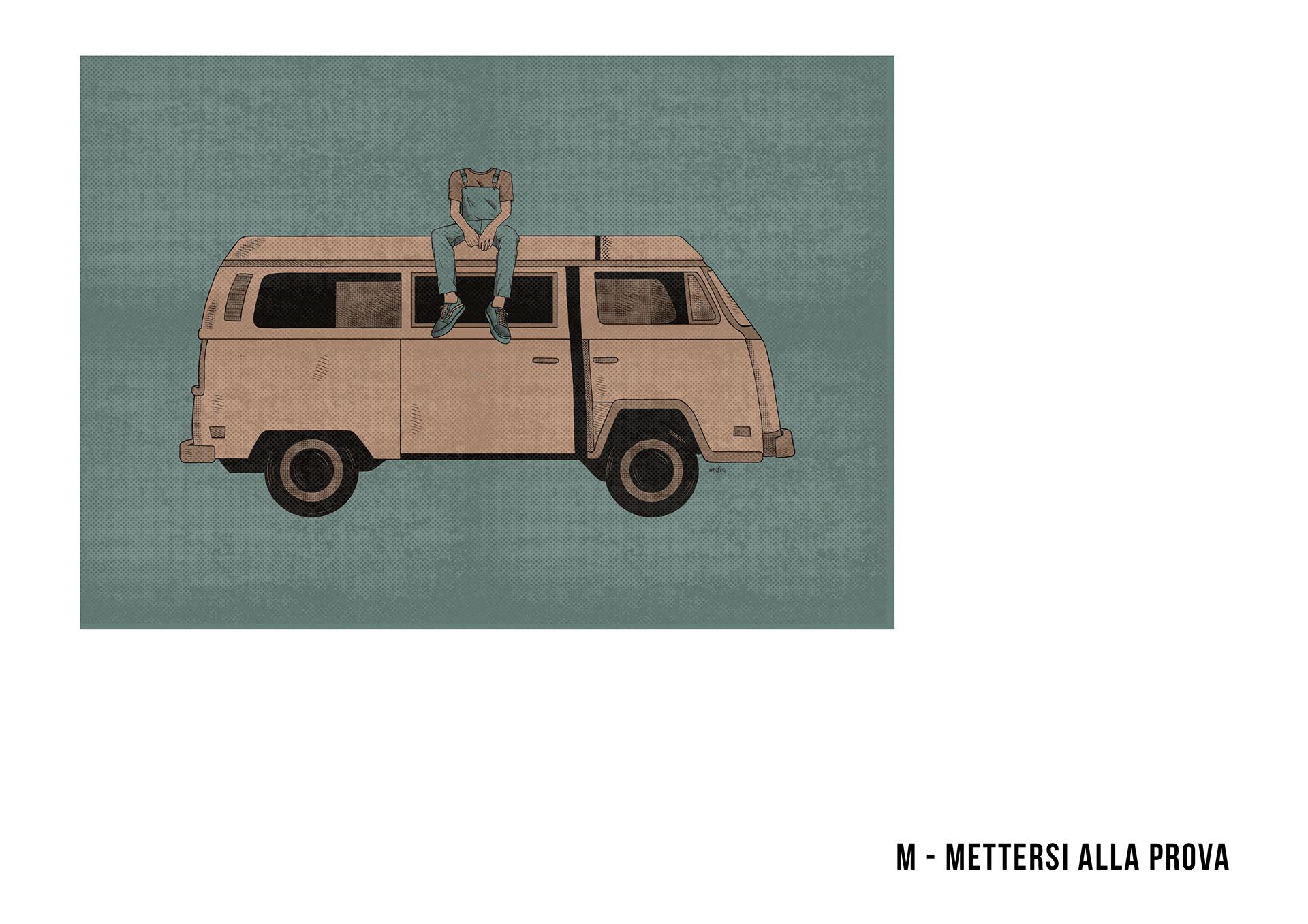 abbecedario illustrato viaggi solitaria francone 11