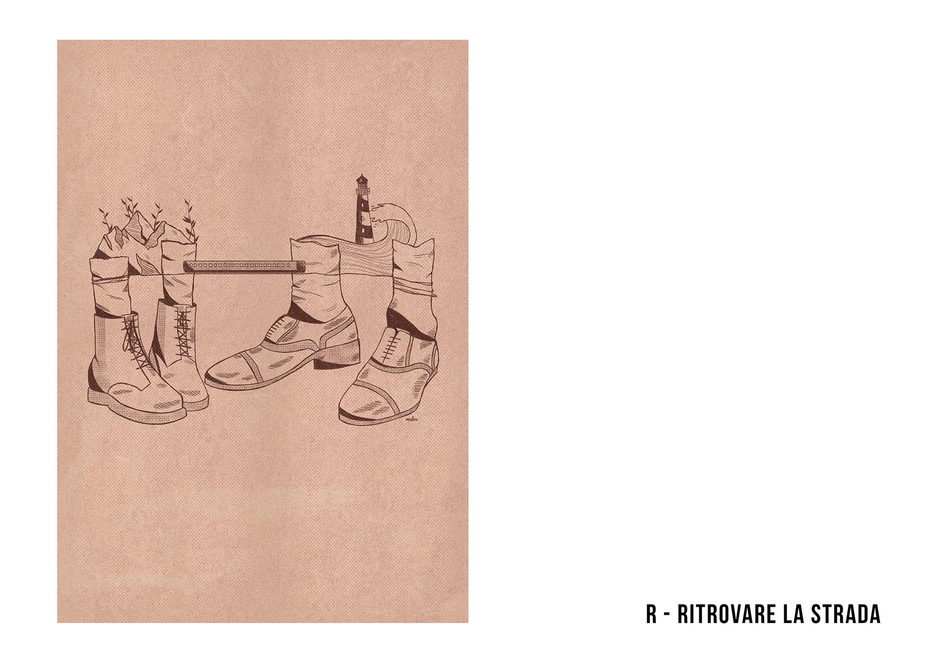 abbecedario illustrato viaggi solitaria francone 16