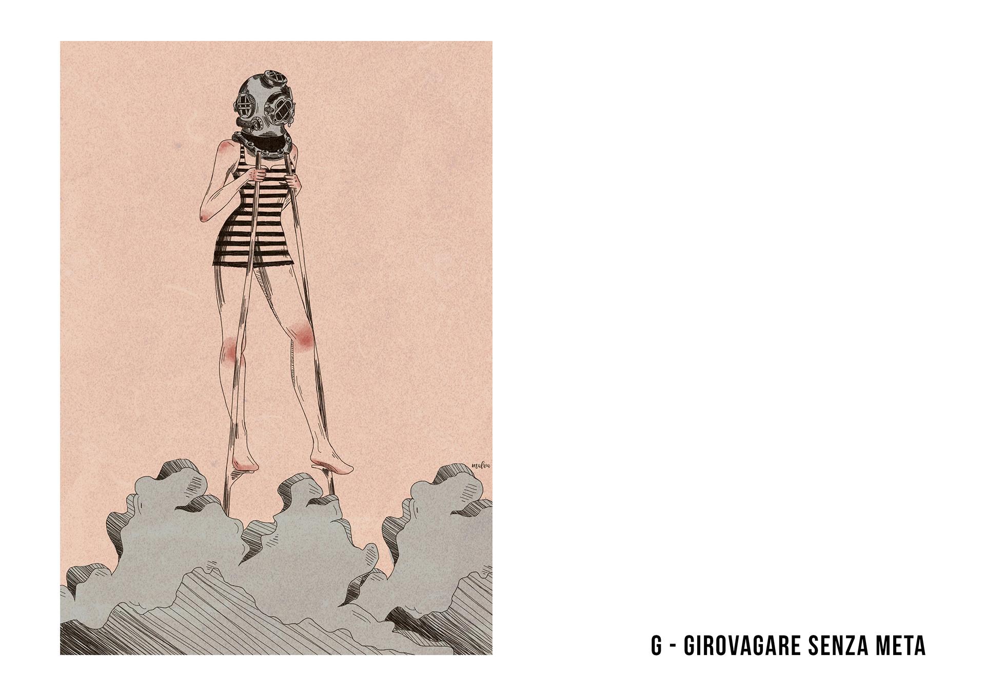 abbecedario illustrato viaggi solitaria francone 7