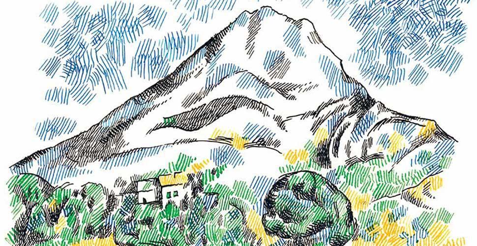 Che paesaggio! Un libro illustrato guida al disegno en plein air