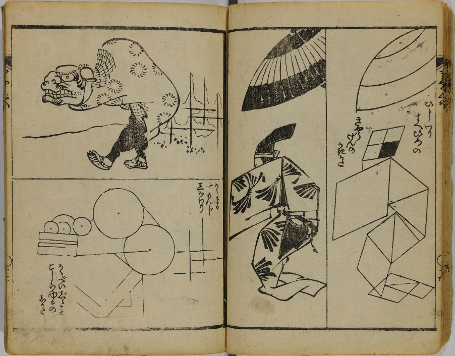 hokusai brevi lezioni disegno 4