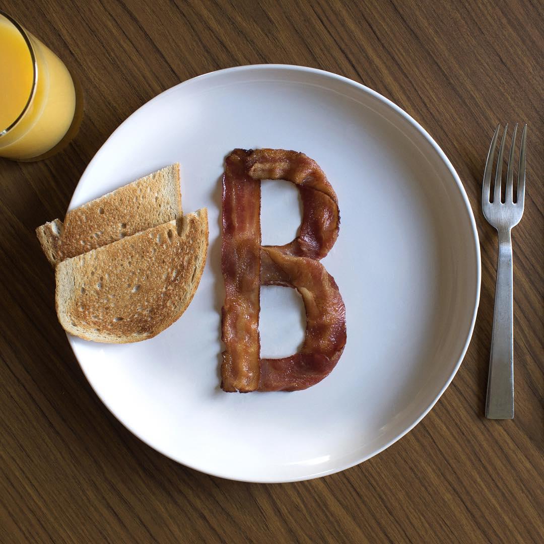 b bacon