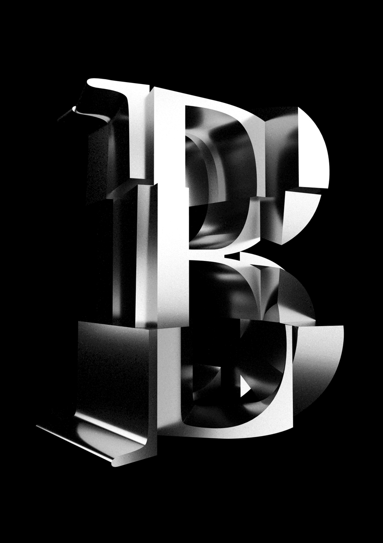cubist typography 2