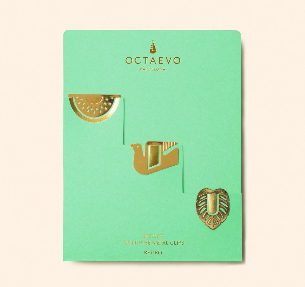 Le clip segnalibro/accessorio di Octaevo