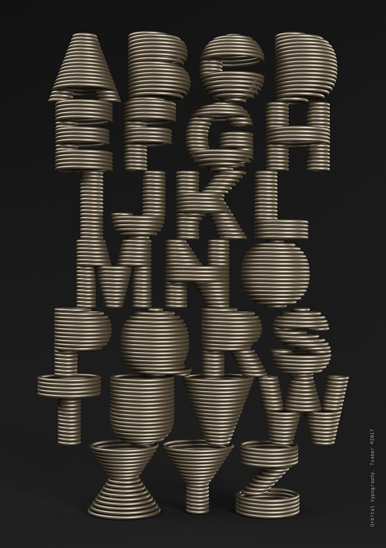 orbital typography 1