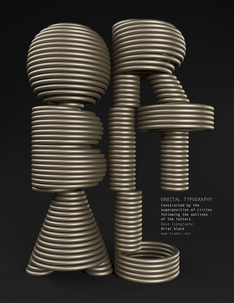 orbital typography 2