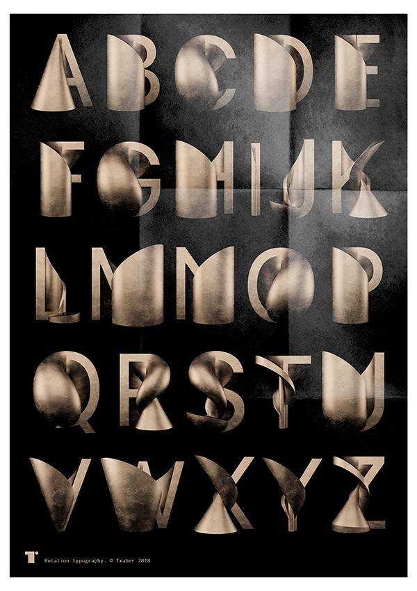 rotation typography 1