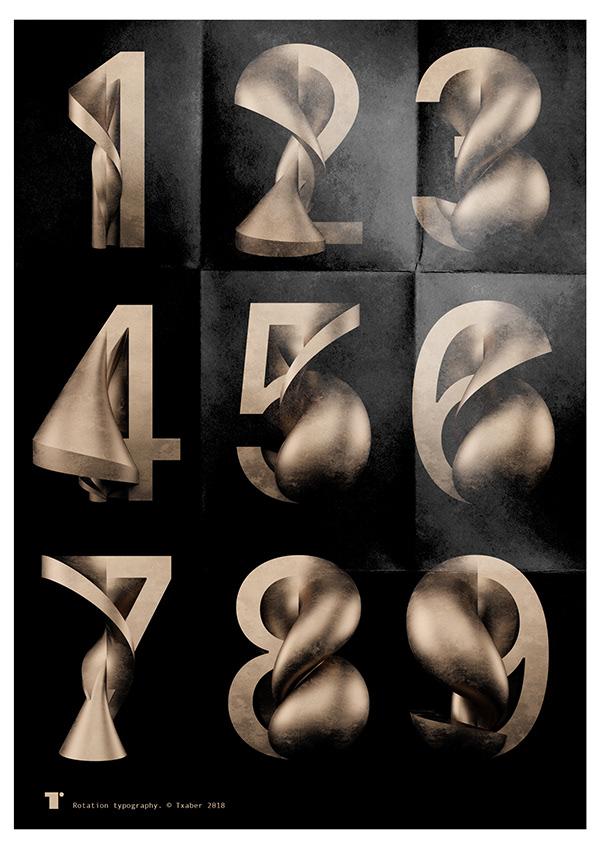rotation typography 6