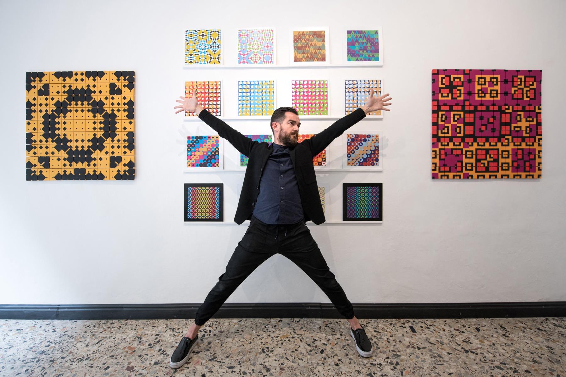 Intervista ai fondatori di Wild Mazzini, la prima galleria d'arte dedicata all'information design
