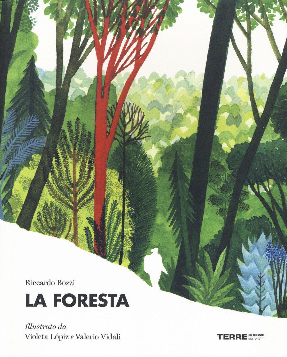 La foresta Bozzi Vidali Lopiz cover