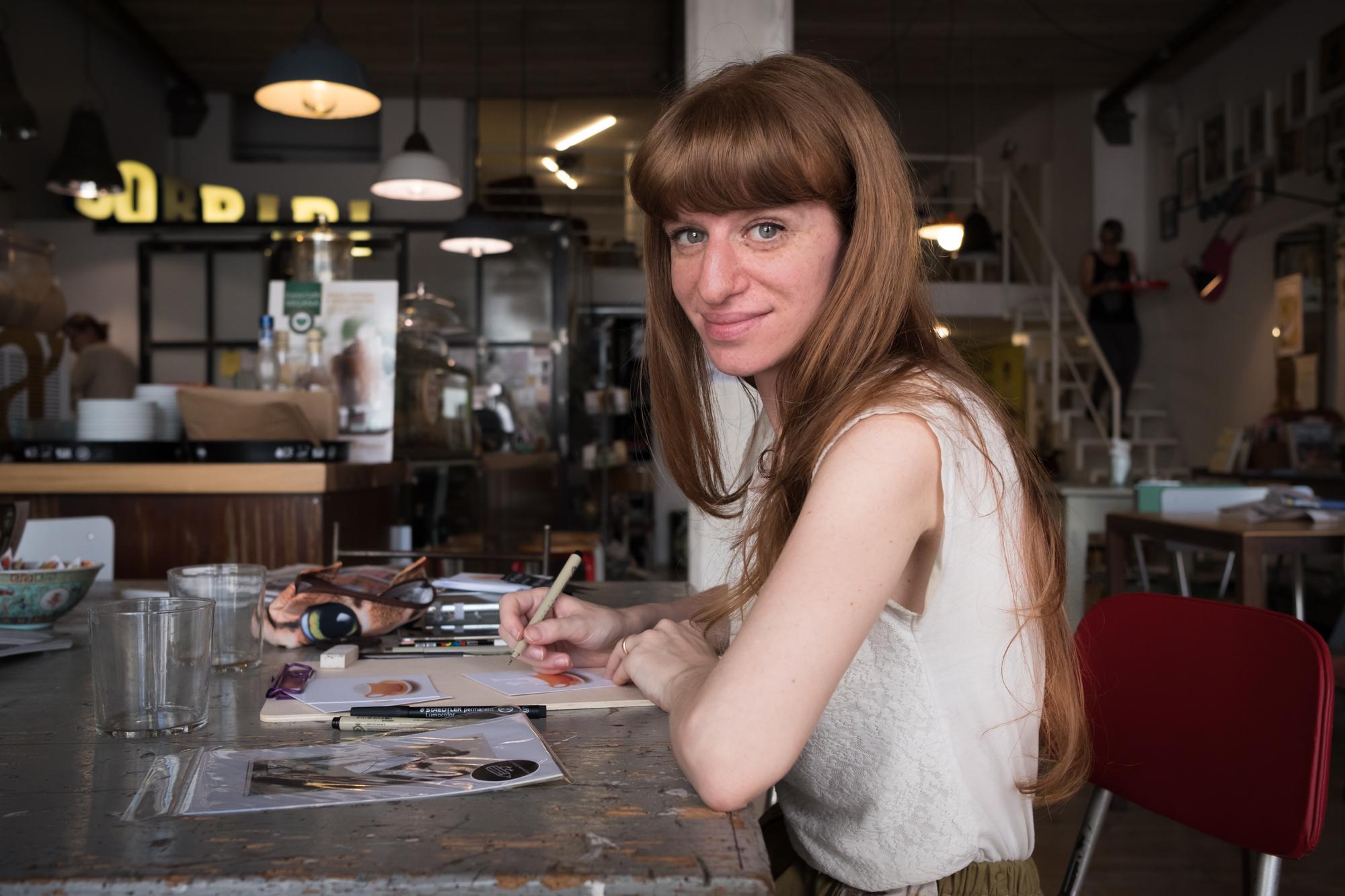 Brioche, matita e caffè. Un'illustratrice a colazione: intervista con Marianna Balducci