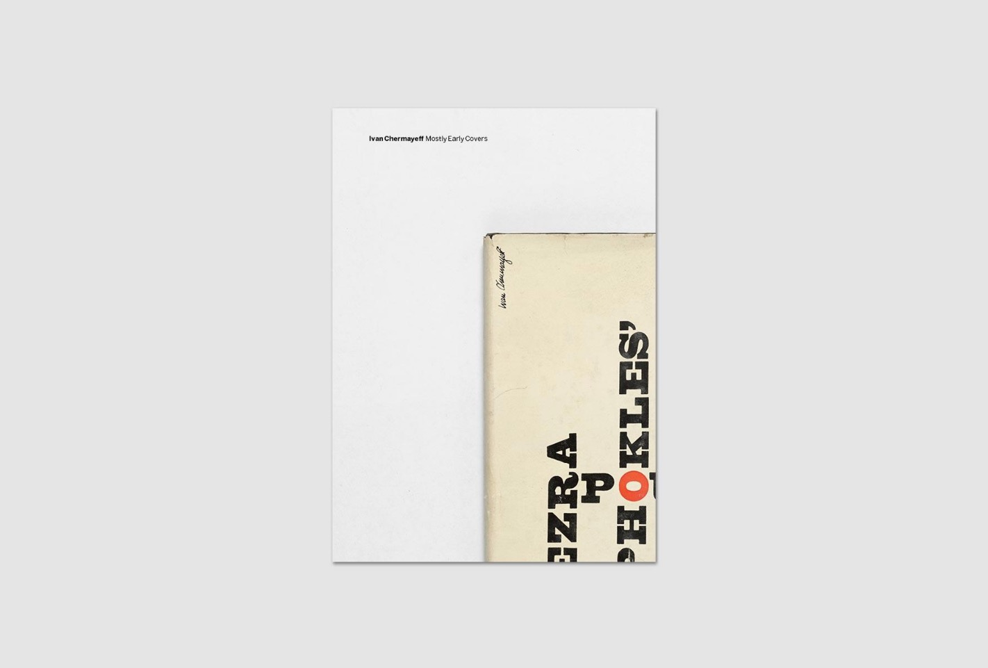 Ivan Chermayeff Mostly Early Covers 1