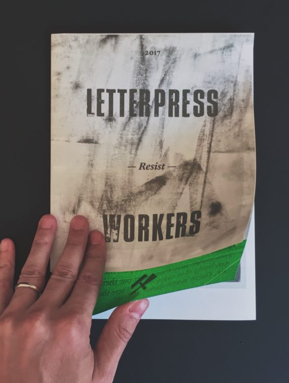 letterpress workers resist 9
