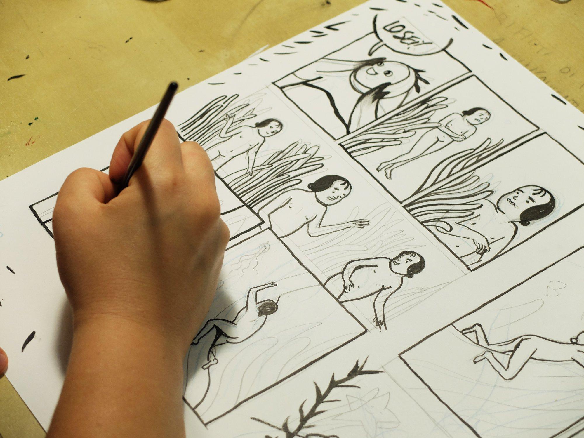 Io sono Mare: intervista a Cristina Portolano sul suo nuovo fumetto