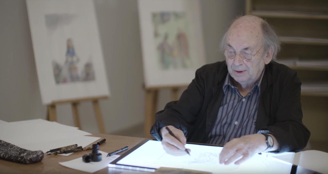 Quentin Blake e l'arte di illustrare