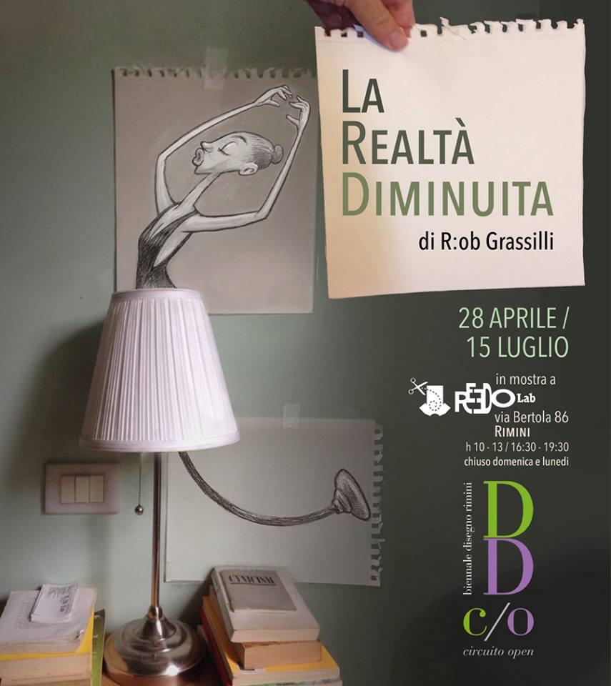 """La realtà diminuita di Roberto """"R:ob"""" Grassilli"""