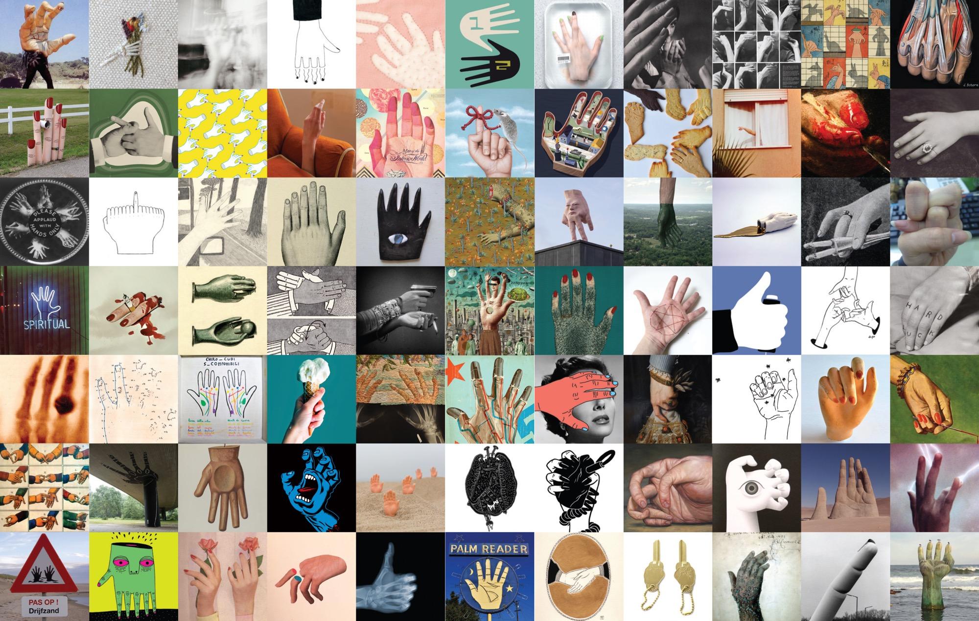 Dare una mano (un'altra) al libro di mani