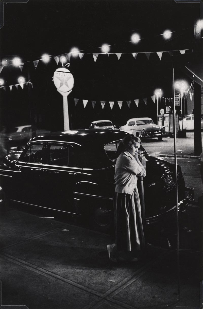 3 Eugene Smith Girl leaning on a parking meter
