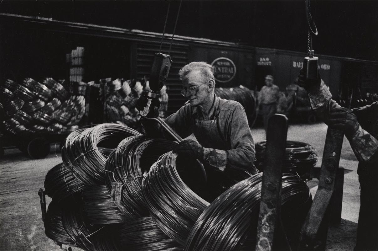 5 Eugene Smith Mill Man Loading Coiled Steel