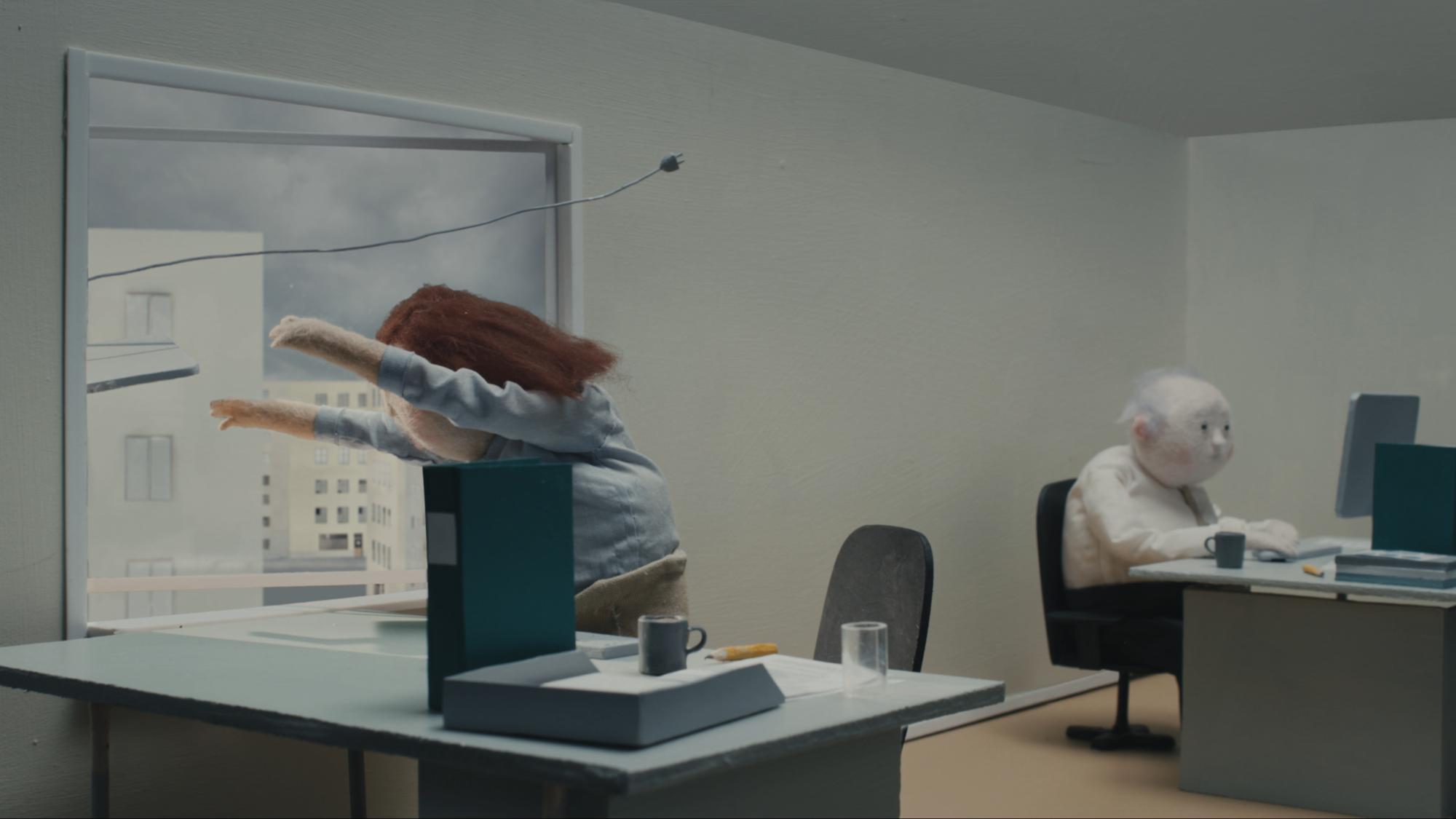 Un'animazione catartica sull'averne abbastanza (e dimostrarlo)
