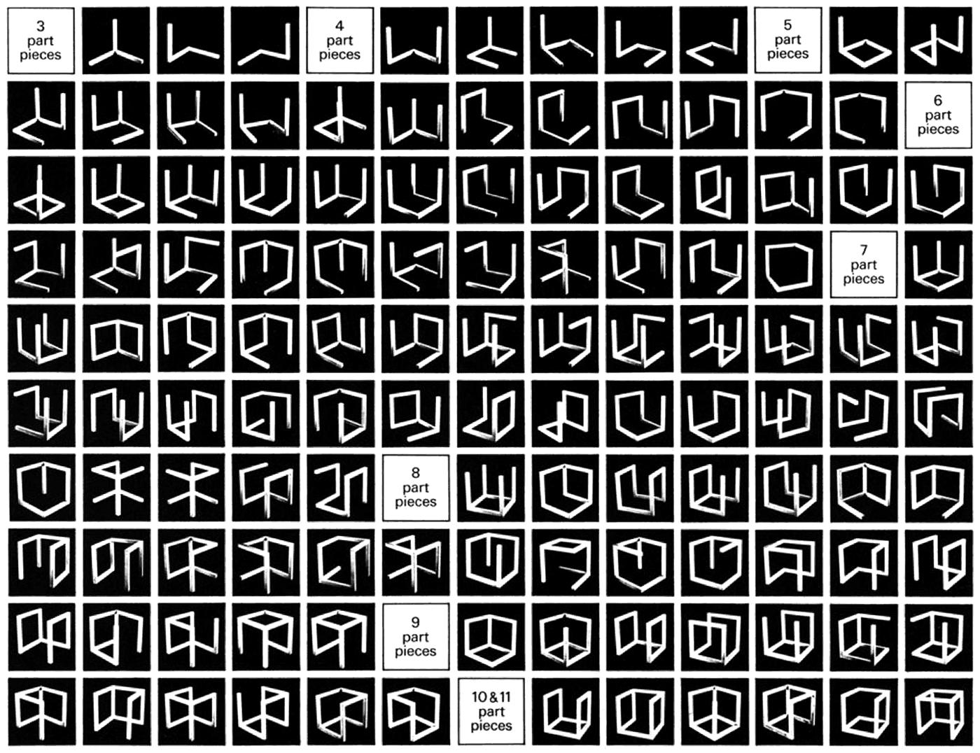 incomplete open cubes le witt