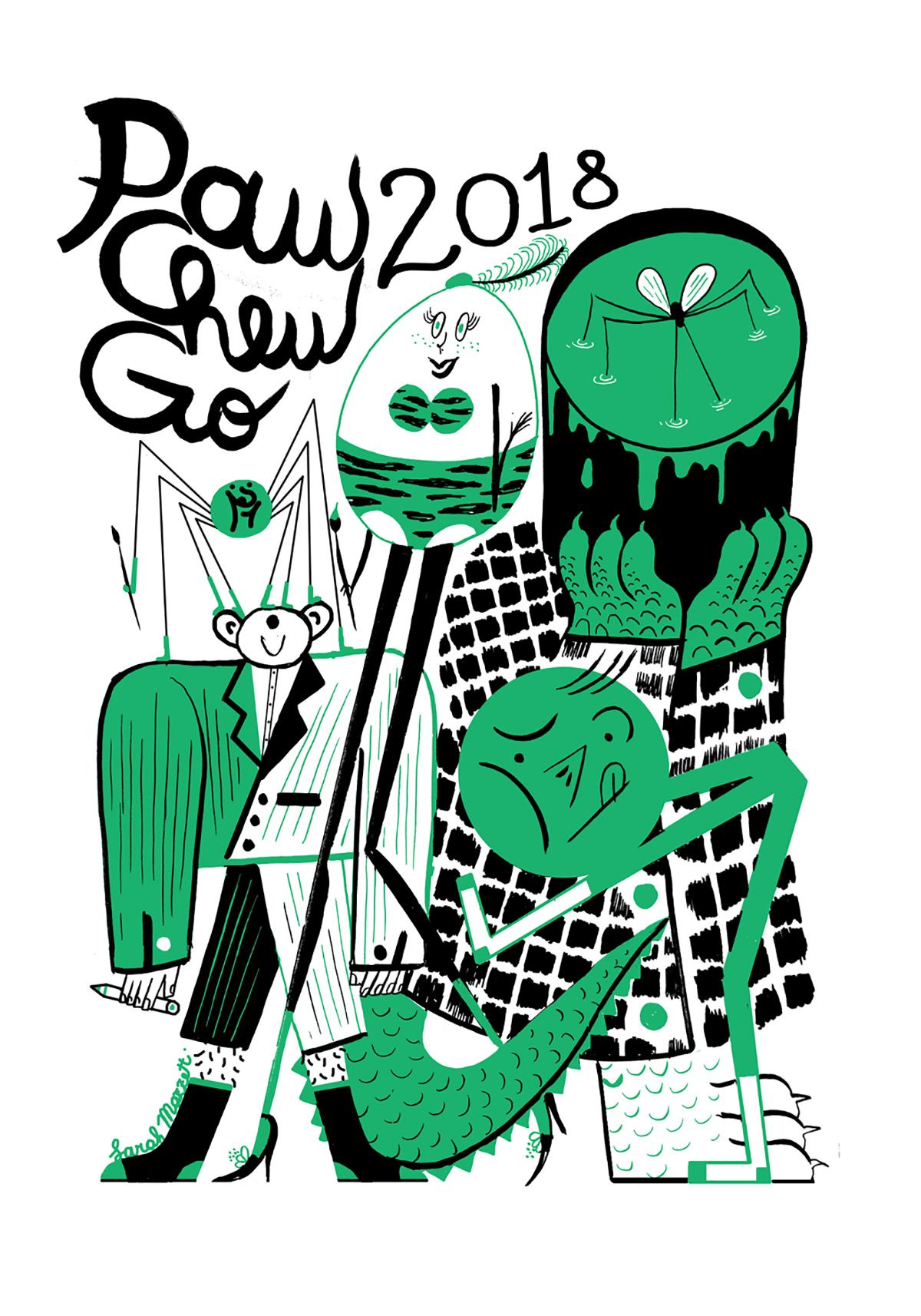 Sarah Mazzetti per PAW CHEW GO Festival