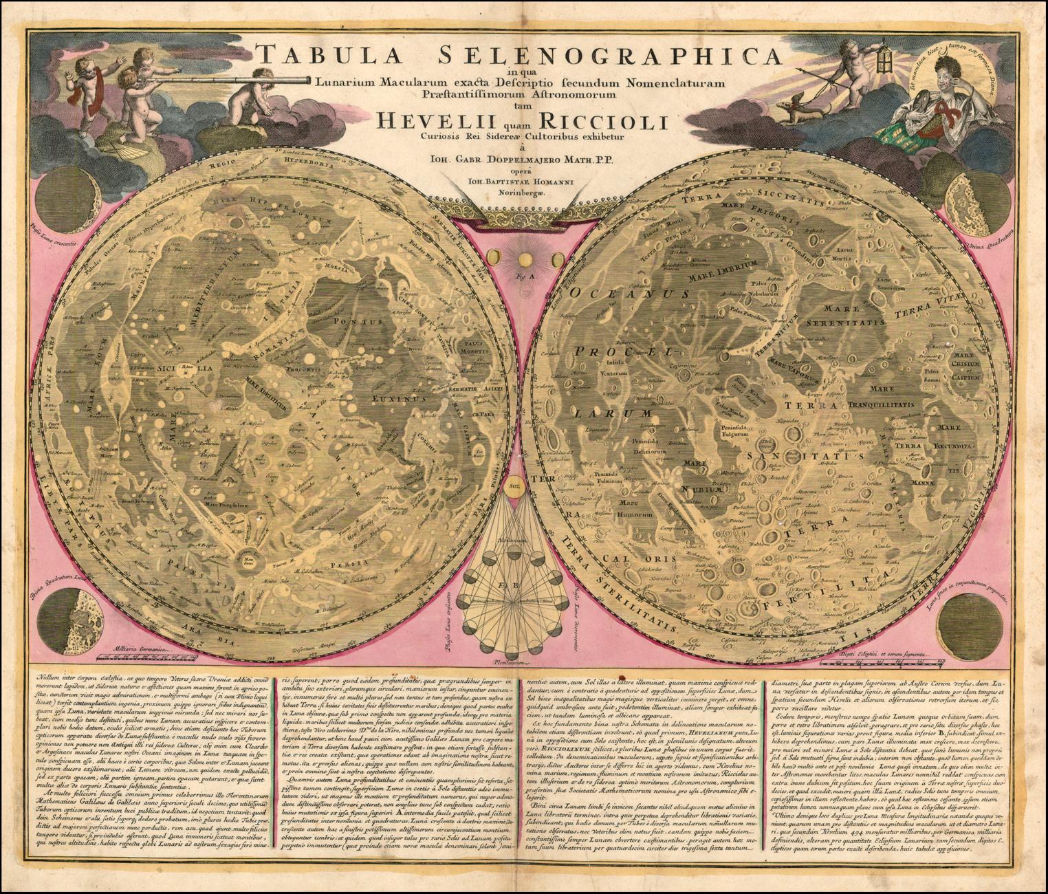 Tesori d'archivio: il museo online delle mappe planetarie