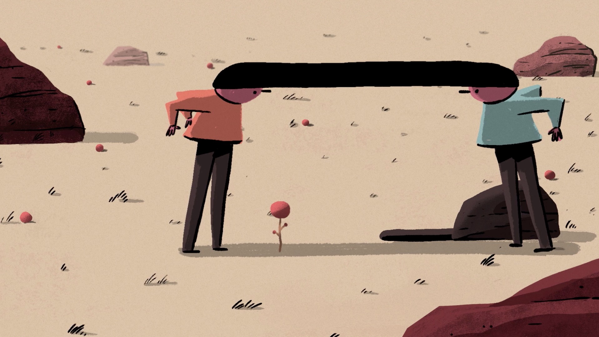 Link: un cortometraggio d'animazione sulla natura umana e sui legami