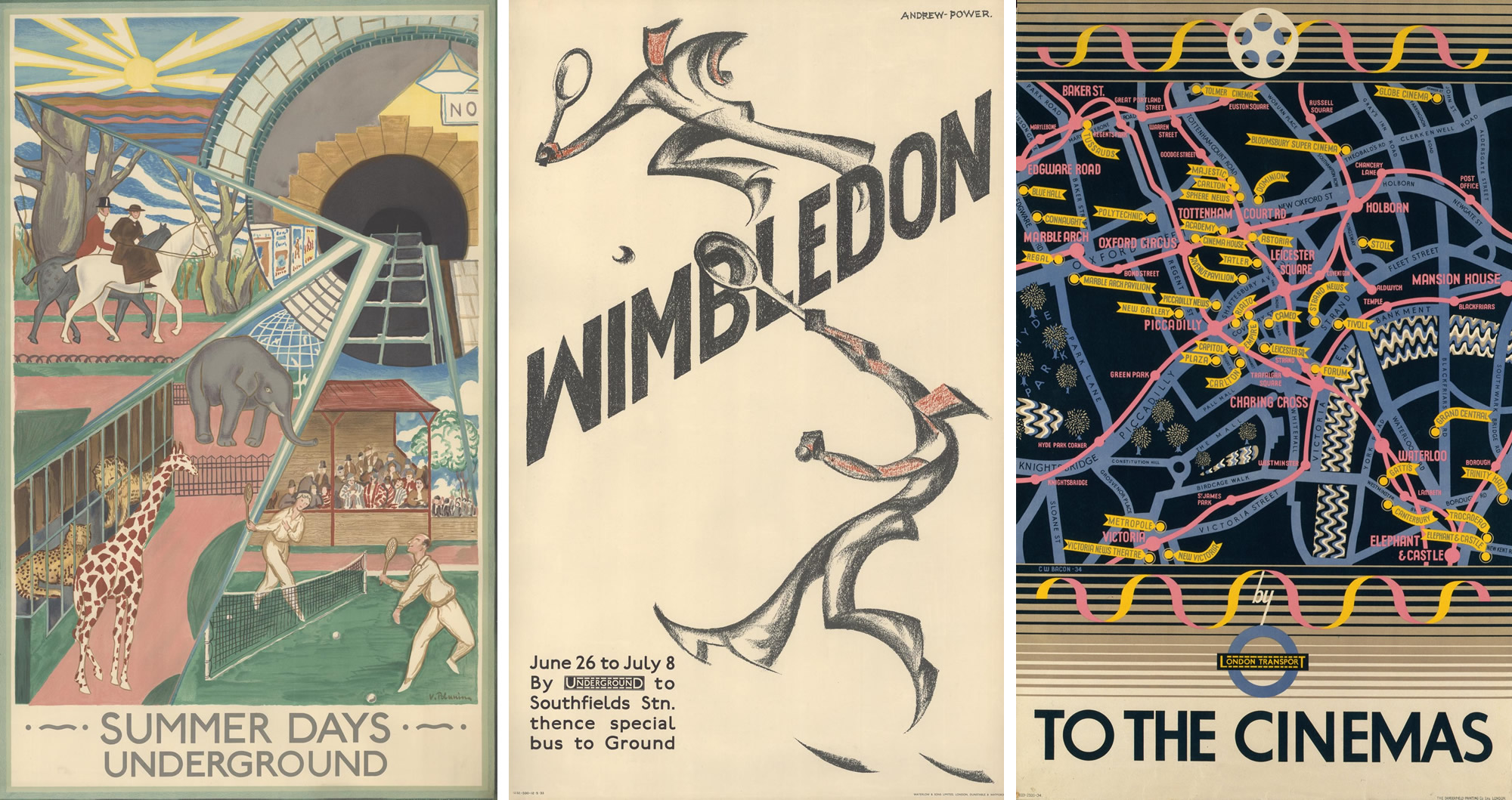 Tesori d'archivio: i poster del London Transport Museum