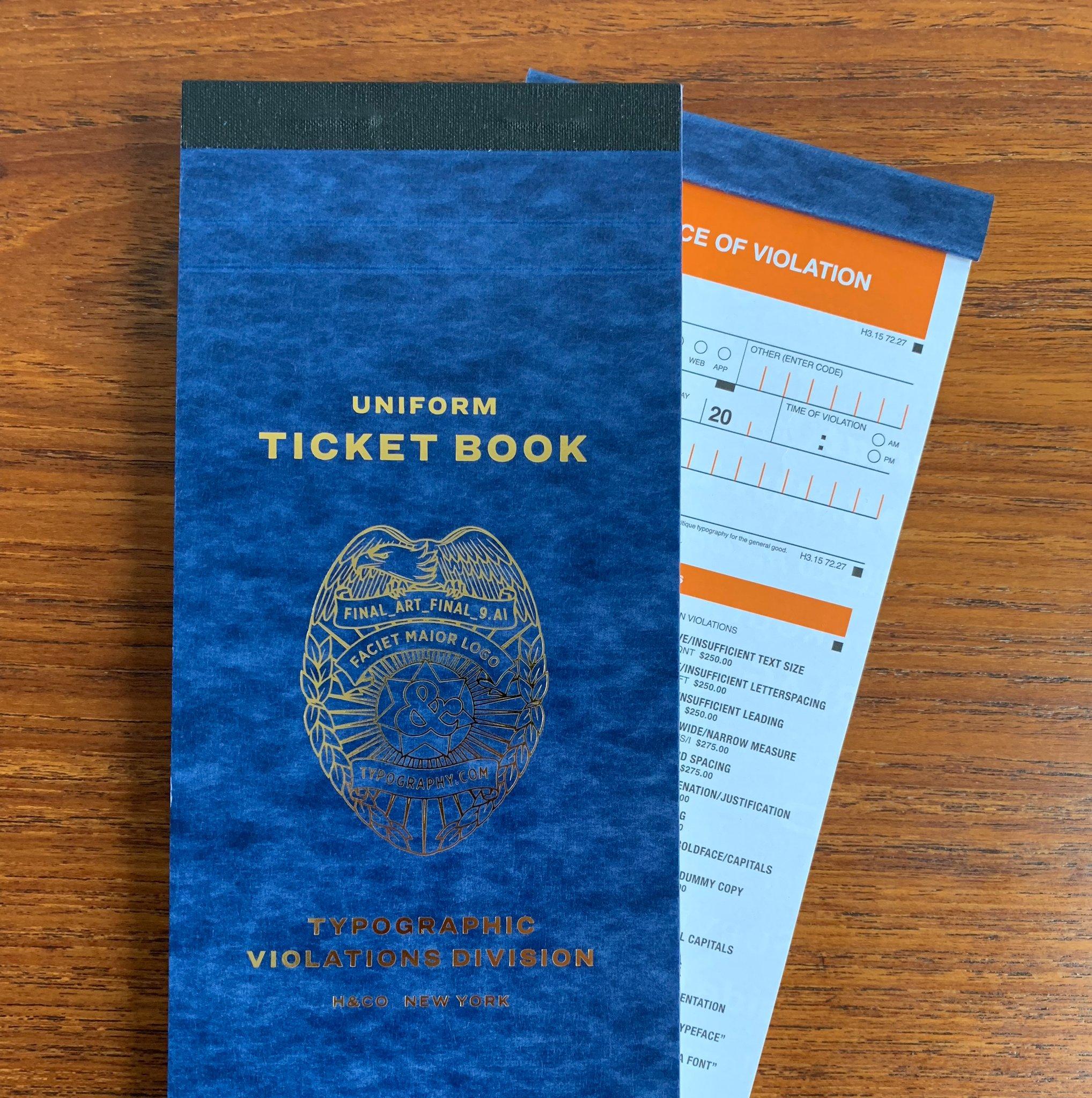 typographic ticket 1
