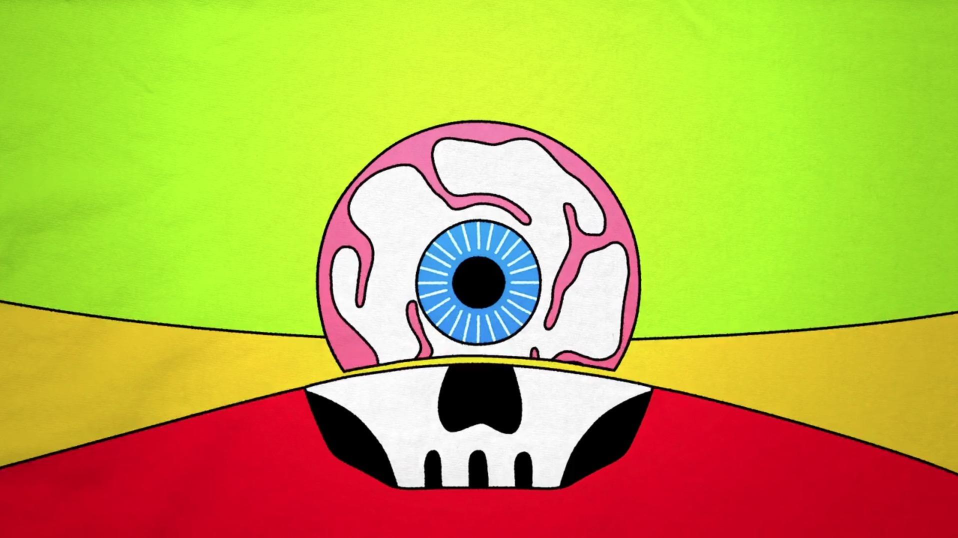 La nuova animazione di Emanuele Kabu per i Tre Allegri Ragazzi Morti