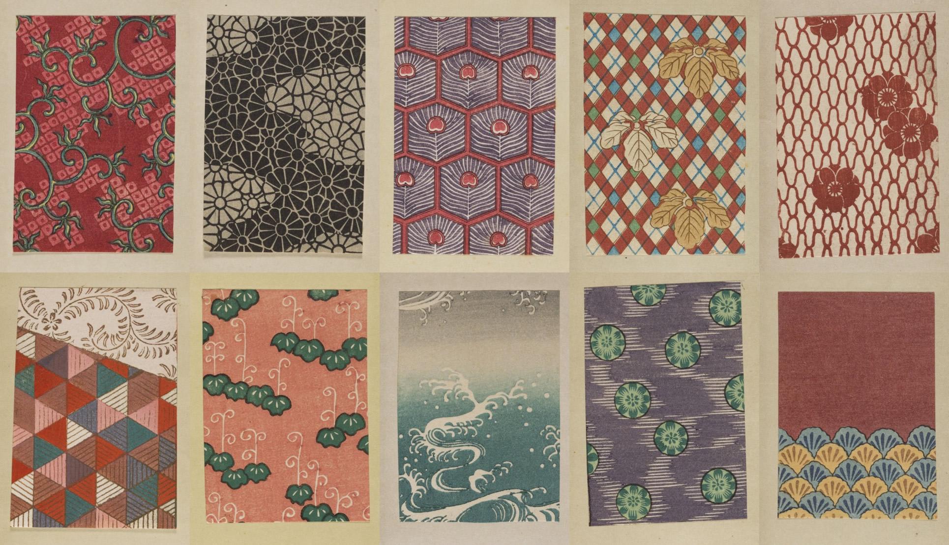 Tesori d'archivio: i pattern delle stampe Ukiyo-e
