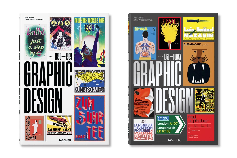 La storia della grafica dal 1890 a oggi, in due volumi