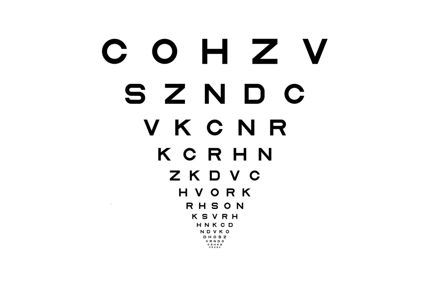 Optician Sans: un font gratuito ispirato alle tabelle degli ottici