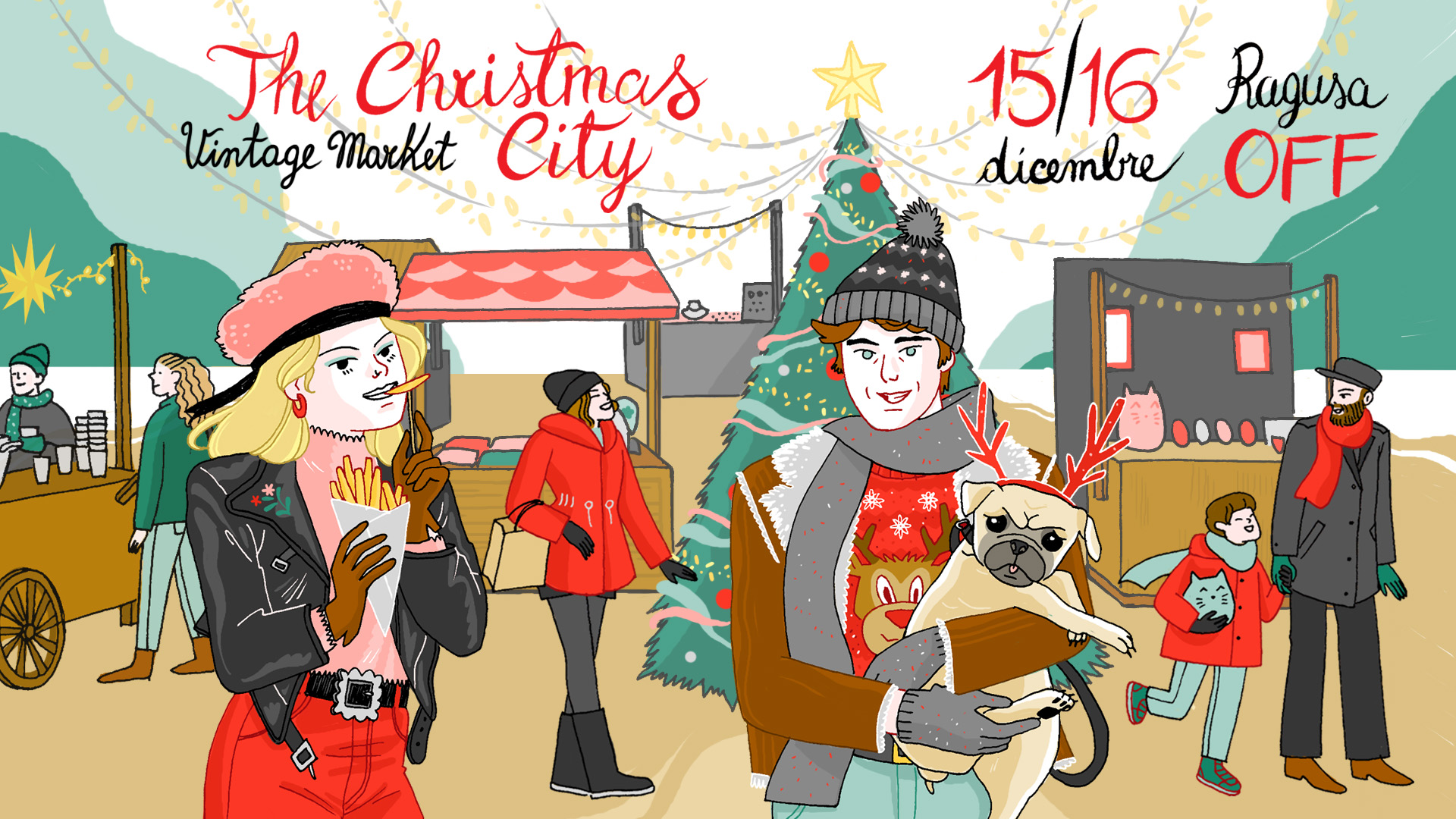 Save the date | Vintage Market – The Christmas City