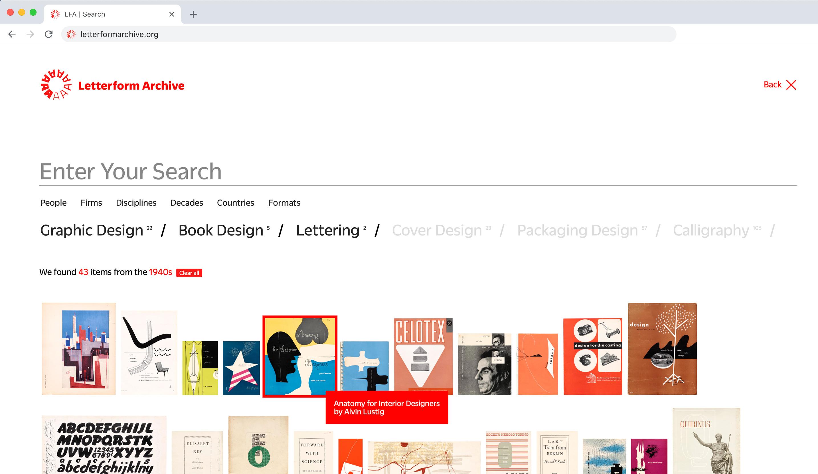 Tesori d'archivio: il Letterform Archive sta digitalizzando tutte le sue collezioni